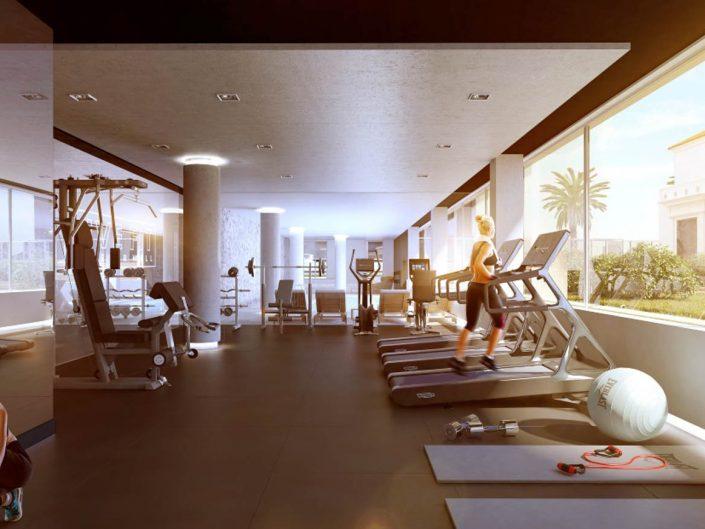 Bilú Riviera - Gym