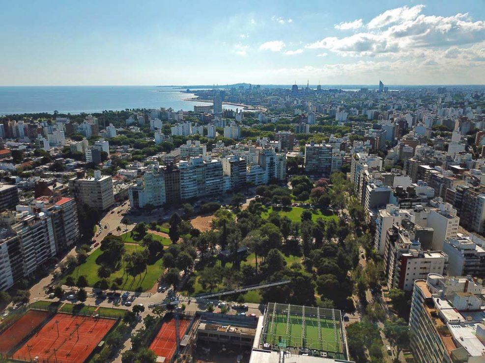 Bilú Biarritz - Aérea hacia el parque